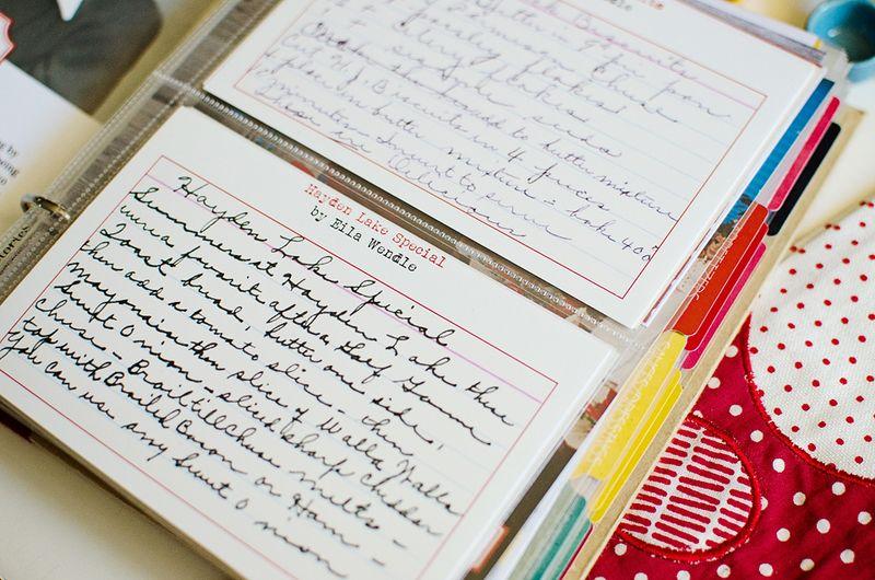 HandwrittenRecipe